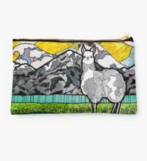 Llama and Andes Studio Pouch