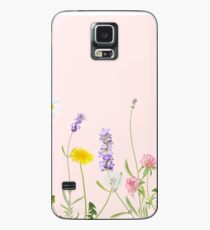 Blush pink - wildflower dreams Case/Skin for Samsung Galaxy
