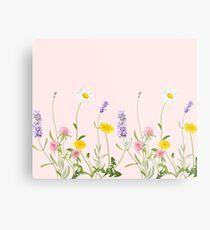 Blush pink - wildflower dreams Metal Print