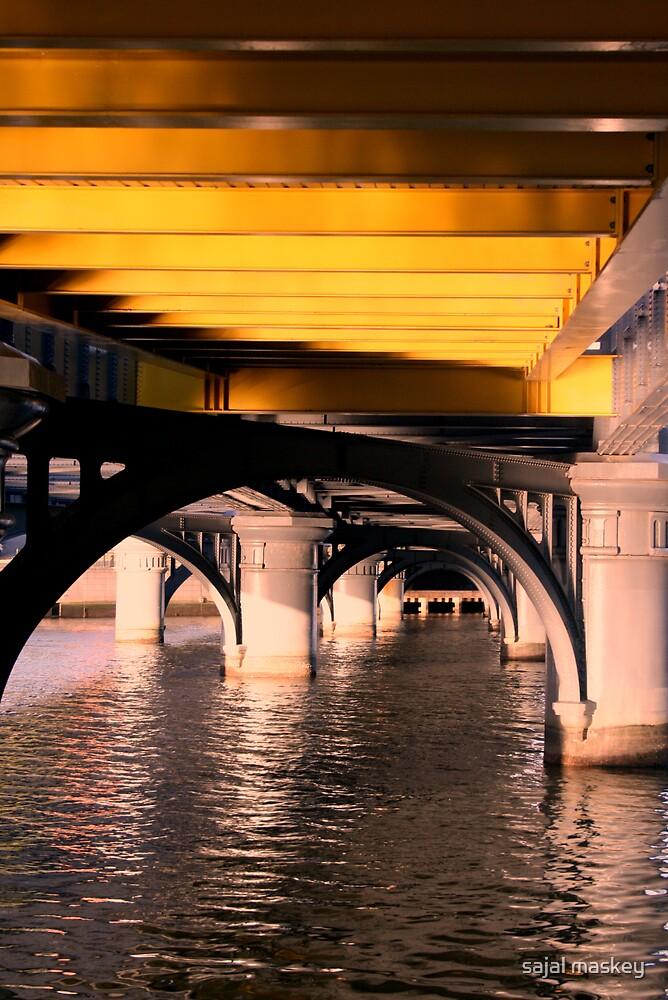 under the bridge by sajal maskey