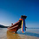 Thong Nai Pan Yai bay fishing boat. by Neil Carey