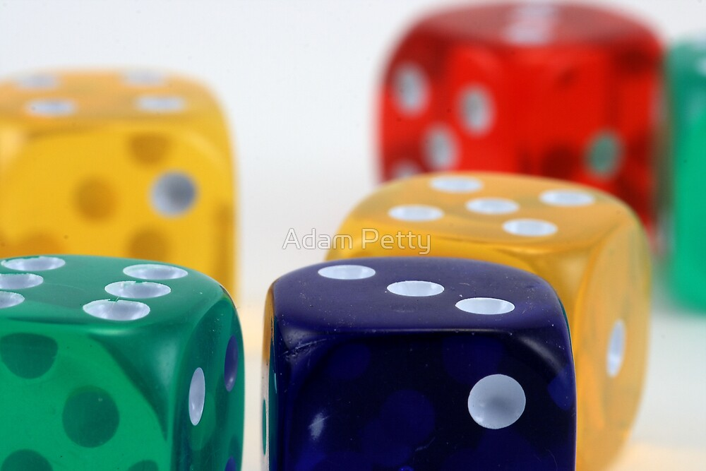 Dice by Adam Petty