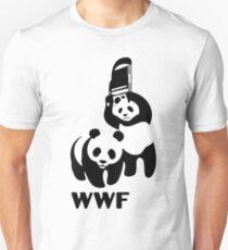 funny wwf panda Unisex T-Shirt