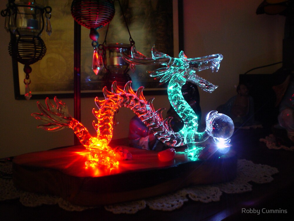 Dragon Glow by Robby Cummins