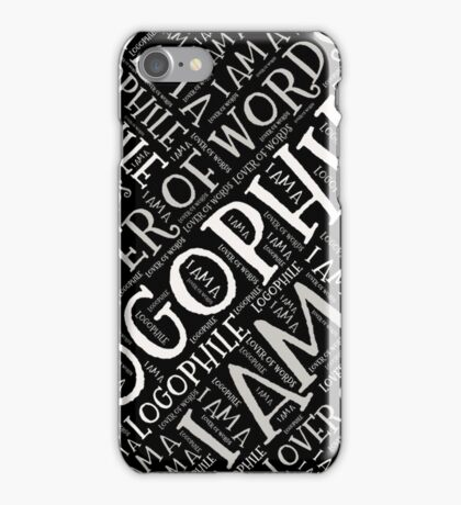 Are You A Lover of Words?  iPhone Case/Skin