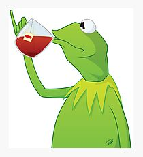 Kermit Tea Photographic Print