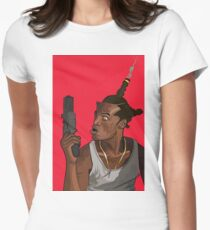 Don't Be a Menace to South Central While Drinking Your Juice in the Hood Womens Fitted T-Shirt