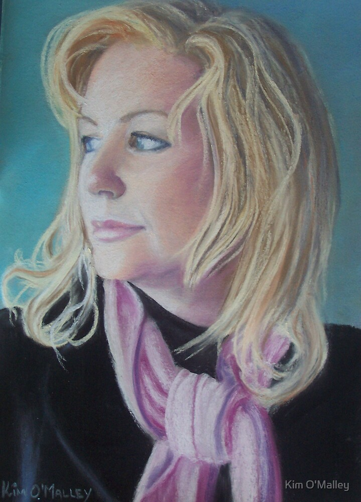 Portrait of Jules by Kim O'Malley