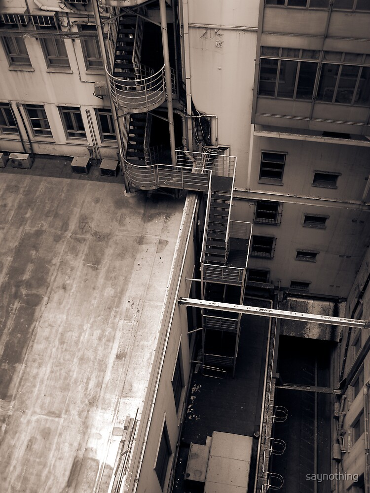 Scene from a window 3 by saynothing