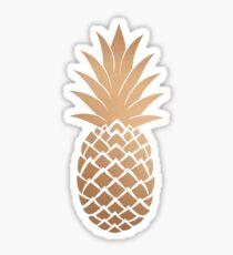 Rose Gold Hawaii Pineapple | Food  Sticker