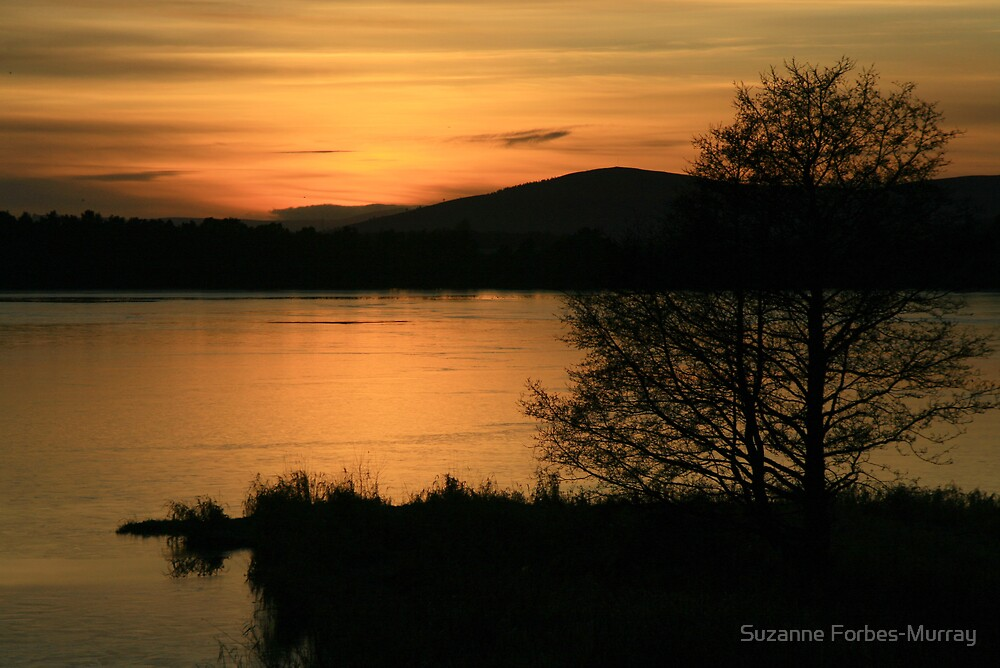 A warm looking Loch Skene by Suzanne Forbes-Murray