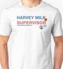 Harvey Milk - Supervisor Unisex T-Shirt