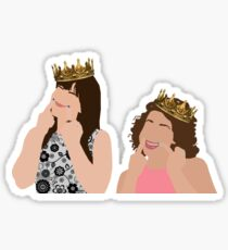 Broad City KWEENS Abbi and Ilana Sticker