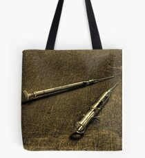 Needle Exchange Tote Bag