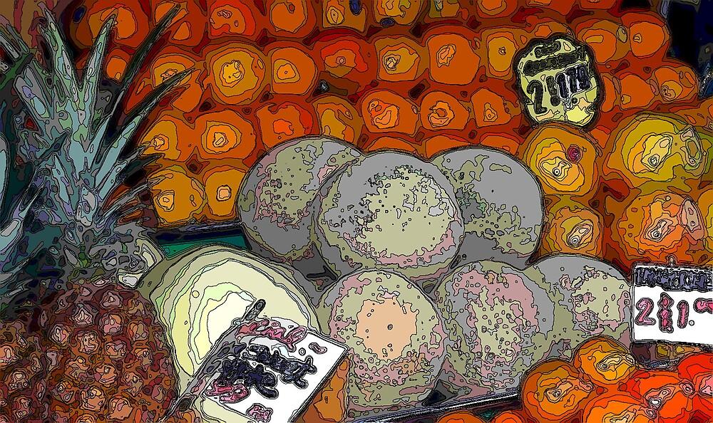 painted fruit market by deegarra