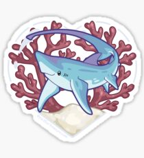 SNAP the Thresher Shark Sticker