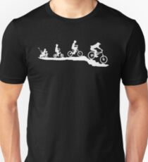 Bikes evolution Unisex T-Shirt