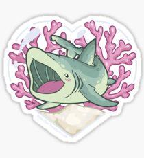 GULP, the Basking Shark Sticker
