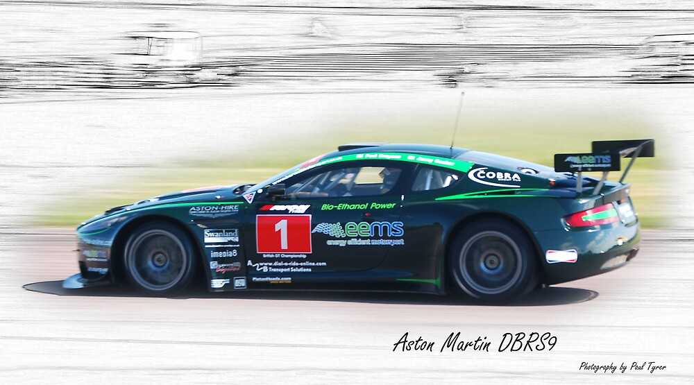 Aston Martin DBRS9 at Thruxton by PaulTyrer