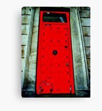 Door on Heritage Building Canvas Print