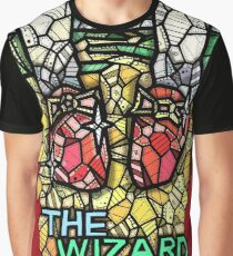 The Wizard of Oz - Stained Glass Art Graphic T-Shirt