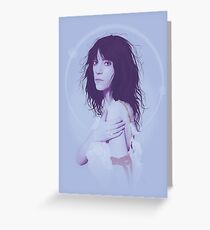Patti Smith Illustration Greeting Card