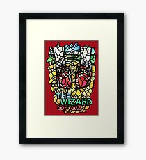 The Wizard of Oz - Stained Glass Art Framed Print