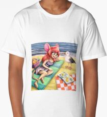 beach picknick Long T-Shirt