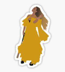 Queen Bey Hold Up Lemonade Sticker