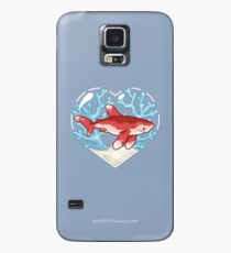 PECK the Whitetip Reef Shark Case/Skin for Samsung Galaxy
