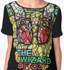 The Wizard of Oz - Stained Glass Art Chiffon Top
