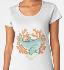 BYTE the Great White Shark Women's Premium T-Shirt