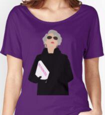 Miranda Priestly- The Devil Wears Prada Women's Relaxed Fit T-Shirt