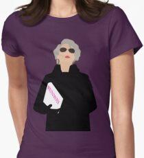 Miranda Priestly - Der Teufel trägt Prada Tailliertes T-Shirt für Frauen