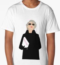 Miranda Priestly- The Devil Wears Prada Long T-Shirt