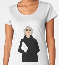Miranda Priestly- The Devil Wears Prada Premium Scoop T-Shirt