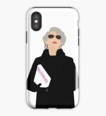 Miranda Priestly- The Devil Wears Prada iPhone Case