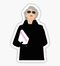 Miranda Priestly- The Devil Wears Prada Sticker