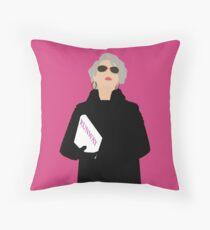 Miranda Priestly- The Devil Wears Prada Throw Pillow