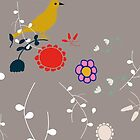 Bird and Blossom by susycosta