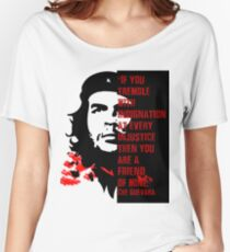 The Classic Che Guevara Vintage and Retro Revolutionary Quote Shirt Women's Relaxed Fit T-Shirt