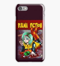 Dragon Ball Z - Bulma Fiction iPhone Case/Skin