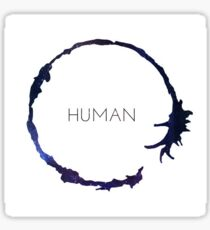 "Arrival: ""Human"" Symbol Sticker Sticker"