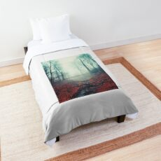 misty march morning Comforter
