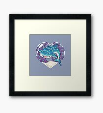 NOM the Whale Shark Framed Print