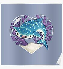 NOM the Whale Shark Poster
