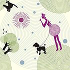 Lady with a dog  by Nata-V