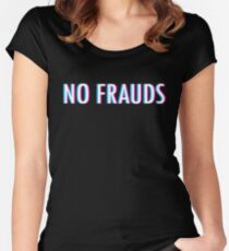 No Frauds Women's Fitted Scoop T-Shirt