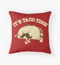 Taco Time! Throw Pillow