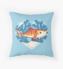 CHOMP the Tiger Shark Throw Pillow
